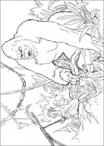 målarbok King Kong (7)