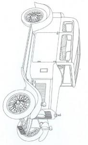 kleurplaat Klassieke auto s (11)