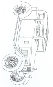 målarbok Klassiska bilar (11)