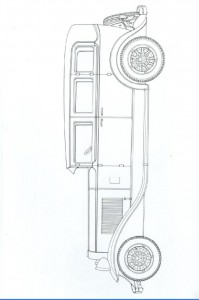 målarbok Klassiska bilar (13)
