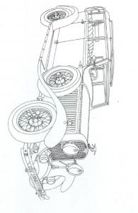 målarbok Klassiska bilar (15)
