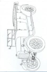 kleurplaat Klassieke auto s (17)