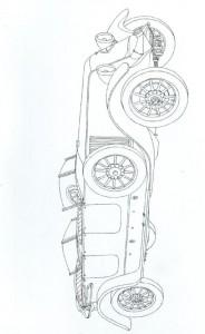 kleurplaat Klassieke auto s (18)