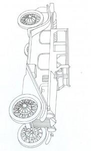 målarbok Klassiska bilar (19)