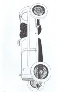 kleurplaat Klassieke auto s (24)