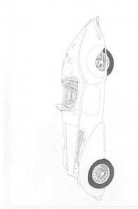 kleurplaat Klassieke auto s (3)