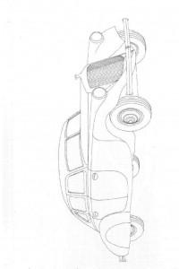 målarbok Klassiska bilar (8)