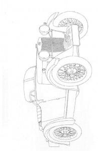 målarbok Klassiska bilar (9)