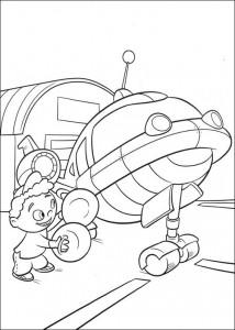 coloring page Kleine Einsteins (1)
