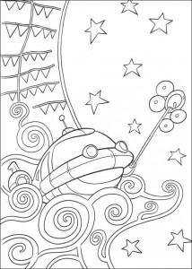 Disegno da colorare Kleine Einsteins (15)