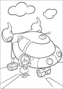 Disegno da colorare Kleine Einsteins (2)