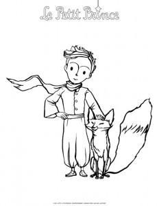 målarbok Little Prince (2)