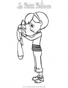 coloring page Little prince (5)