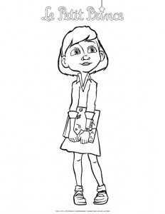coloring page Little prince (6)