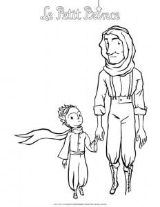målarbok Lilla prins
