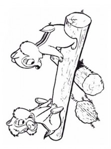 coloring page Nibble and Babbel (15)