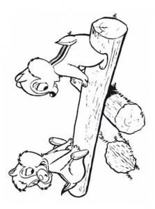 раскраска Клев и Баббель (15)