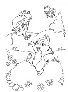 coloring page Nibble and Babbel (3)