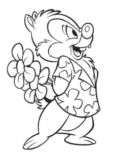 coloring page Nibble and Babbel (33)