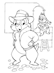 coloring page Nibble and Babbel (5)