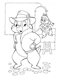 раскраска Клев и Баббель (5)