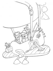 coloring page Nibble and Babbel (7)