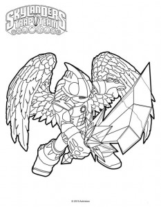 knight light coloring page