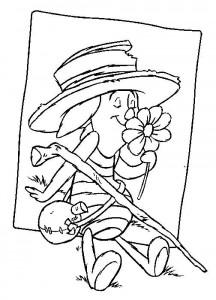 Disegno da colorare Maialino (1)