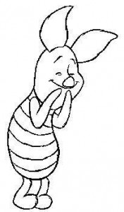 coloring page Piglet (10)