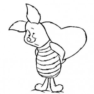 coloring page Piglet (15)