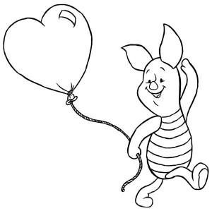 coloring page Piglet (19)