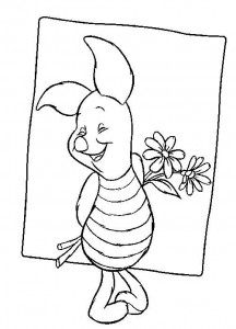 coloring page Piglet (2)