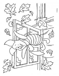 coloring page Piglet (20)