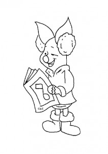 coloring page Piglet (21)