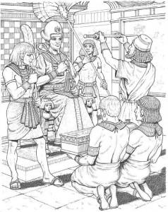 målarbok Kung
