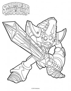 coloring page krypt king