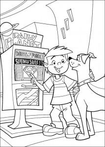 coloring page Krypto de Superdog (13)