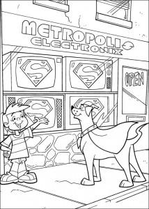 σελίδα ζωγραφικής Krypto de Superdog (17)