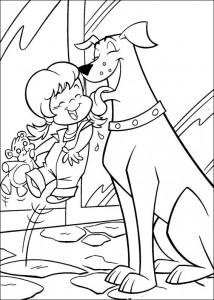 σελίδα ζωγραφικής Krypto de Superdog (21)