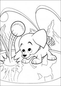 coloring page Krypto de Superdog (26)