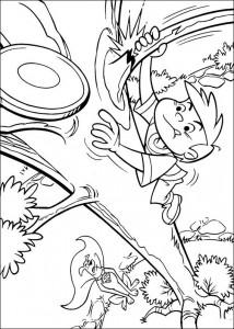 coloring page Krypto de Superdog (3)
