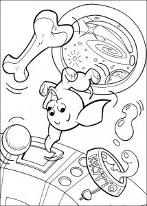 coloring page Krypto de Superdog (30)