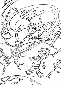 σελίδα ζωγραφικής Krypto de Superdog (9)
