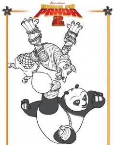 målarbok Kung Fu Panda 2 (1)