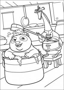 målarbok Kung Fu Panda 2 (12)