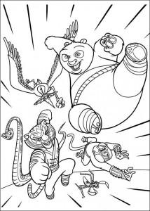 målarbok Kung Fu Panda 2 (13)