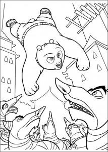 kleurplaat Kung Fu Panda 2 (15)