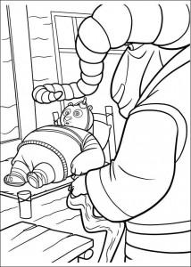 målarbok Kung Fu Panda 2 (19)
