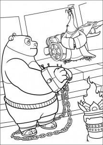 kleurplaat Kung Fu Panda 2 (22)