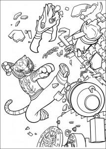 kleurplaat Kung Fu Panda 2 (24)